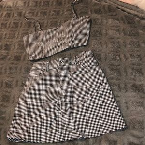 2 piece skirt set